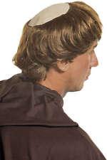 Moine à la Tête Chauve avec Couronne de Cheveux Neuf - Carnaval Perruque Cheveux