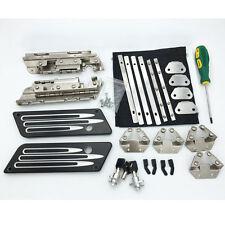 CNC Billet Deep Cut Latch Cover 3 Keys Saddlebag Hardware Lock for Harley 93-13