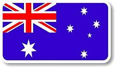 Vinyl sticker/decal Medium 120mm Australia flag