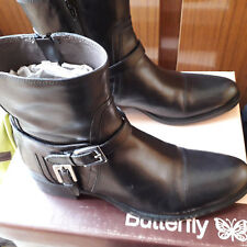 Bottines marque Butterfly en cuir taille 37