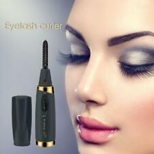 Mini USB Rechargeable Electric Heated Eyelash Curler Women Makeup Curling Tool