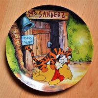 Bradford Exchange Disney Winnie the Pooh Plate Hello Pooh