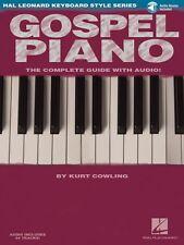 Gospel Piano Hal Leonard Keyboard Style Instruction Book and Audio NEW 000311327