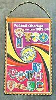 Orig. Wimpel DDR Oberliga 1983/84 Fußball Jahreswimpel Chemie Leipzig Union FCM