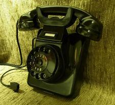 Jubiläum! 65! W49 altes Telefon Bakelit Telephone Wandtelefon TI-WA RESTAURIERT!