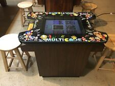 Ms. Pac Man Donkey Kong Burgertime Cocktail Table 60 in 1 Multicade Arcade Game