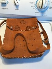 Leather Purse Hand Crafted Grest Seal Of Oklahoma Cyprus Snaps