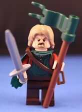 LEGO® LORD OF THE RINGS™ custom KING THEODEN™ Minifigure + Sword & Standard