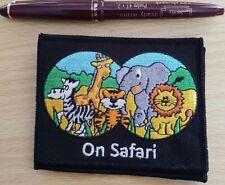 Scout Guide Safari Badge