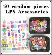 Littlest Petshop Lot 50 Big Accessories : House, Kennel, Cars, Boat... Pet Shop