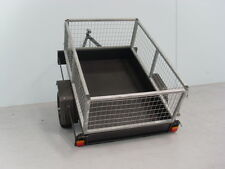6x4 Trailer With 2ft Galvanzied Cage