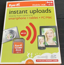Eye-Fi Mobile X2 8GB Class 6 - SDHC Card - Retail - EYE-FI-8MD