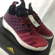 Adidas James Harden Vol. 2 Men's Size 10 Boost Basketball Shoes Sneakers NEW