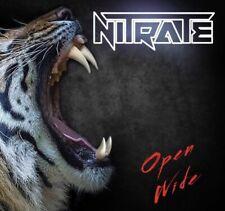 Nitrate Open Wide CD (Midnite City, Motley Crue, Zinatra, Guns N Roses)