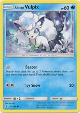4X NM-Mint - Alolan Vulpix - 21/145 - Common - Sun & Moon: Guardians Rising