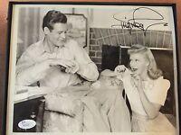 Ginger Rogers Signed 8x10 Photo JSA COA Rare vintage rare