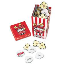 """Learning Resources POP for Sight Word Game Red/White 100 Popcorn Cards 3""""L x 3""""W"""