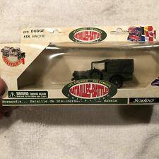 Solido The Famous Battles Dodge Army Green 4x4 Ambulance Bache, 1:43, # 6111-NIB