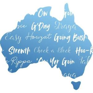 Couture Creations Mini Stamp - sunburnt country - Australian Silhouette Map