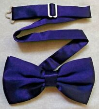 Bow Tie Mens NEW Bowtie Adjustable Dickie DARK GOTHIC PURPLE