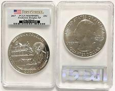 2017 5 oz Silver ATB Frederick Douglas National Site Coin PCGS MS69 DMPL FS