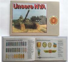 DDR NVA Heft ( Schulterstücke Medaille Uniform Panzer Warschauer Vertrag ... )