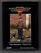 WARRIORS SCALE MODELS 35497 - ERNST BARKMAN - PANZER ACE - 1/35 RESIN KIT
