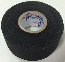 "SportsTape Wide Black Cloth Hockey Stick Tape 1.5"" Pro Quality 1.5""x82'"