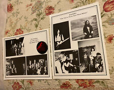 "Glenn Danzig Promo Photo Danzig ""Her Black Wings"" Button Promoter Fan Pictures"