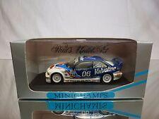MINICHAMPS BMW M3 GTR IMSA 1996 - VALVOLINE DONOHUE + QUIROS 1:43 - GOOD IN BOX