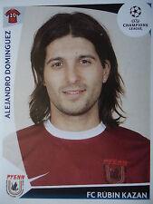 Panini 410 Alejandro Dominguez Rubin Kazan UEFA CL 2009/10