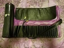 NEW&AUTHENTIC Younique Cosmetic Brush Roll Up Bag with Case