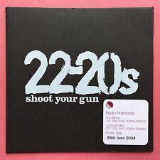 22-20s - Shoot Your Gun - Card Sleeve - Promo CD