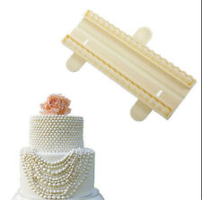 Bead Cutter Pearl Sugarcraft Fondant Cake Gum Paste Decorating Mold Tool WOAU