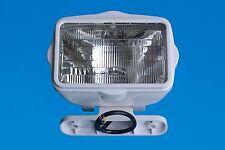 Boat/Caravan/Motorhome Light - Roll Bar Spot Light - White ABS Surround -12V 60W