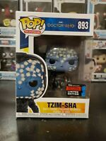 Funko Pop! Doctor Who Tzim-Sha #893 2019 NYCC Exclusive WITH PROTECTOR!