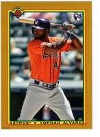 Yordan Alvarez 2020 Bowman 1990 Bowman 5x7 Gold #90B-YA /10 Astros