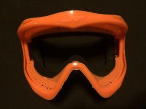 NEW JT Proflex Orange Frame  Paintball Mask Goggle GI Sportz Brimstone LE