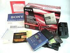 Used SONY MiniDisc MD Walkman MZ-R55 No headphones, works fine, boxed MINI DISC