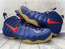 Nike Air Foamposite Pro Blue University Red Shoes CJ0325-400 Men's Size 12.5 NEW