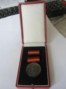 DDR NVA Medaille Kampf gegen Faschismus in Schachel Orden Unifom Grenztruppen