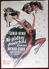 1945 Original Movie Poster It's a pleasure Seiter Sonja Henie Michael O'Shea