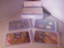 2009-S U.S.Mint Proof 18 coin set ... w/quarters, pennies & Pres. dollars - COA