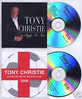 TONY CHRISTIE Simply In Love UK 14-trk promo test CD + bonus CD
