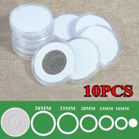 Inner diameter 80 mm DIRECT FIT AIRTIGHT COIN CAPSULES HOLDERS CAPSULES 50pcs