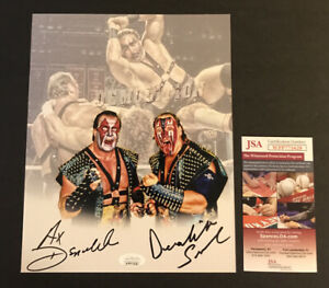 Demolition Ax And Smash Signed 8 X 10 JSA COA