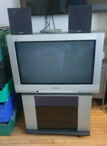 Panasonic TX-32PK2 CRT TV with stand, speakers remote, Dolby Sound FREE POST