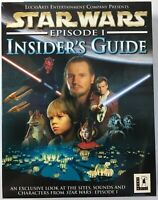 Star Wars Episode I Insider's Guide 1999 2 Disc Big Box PC CD-Rom Utility - New