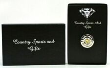 Shotgun Cartridge End Cap Metal Lapel Pin Badge Brooch Shooting - Gift Box