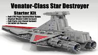 9,500-pc, 4.5-ft-long LEGO Star Wars Venator Star Destroyer (STARTER KIT ONLY)